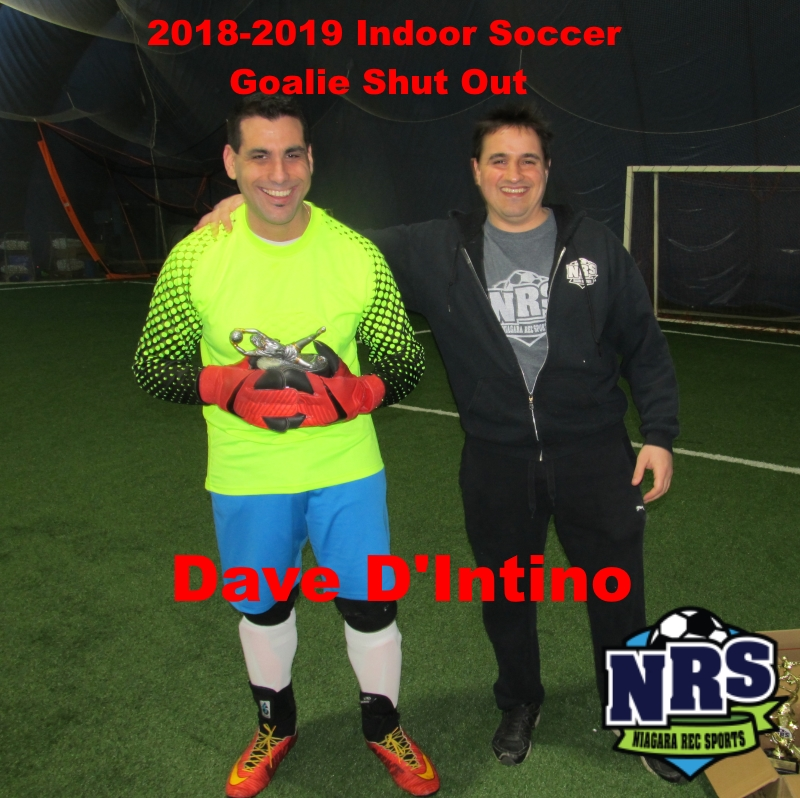 NRS 2018-2019 Indoor Soccer Goalie Shut Out