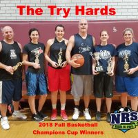NRS 2018 Fall Basketball Champions Cup Winners The Try Hards