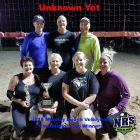 NRS 2018 Monday Volleyball Consolation Cup Winners Unknown Yet