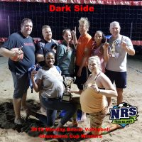 NRS Monday Beach Volleyball Champions Cup Winners Dark Side