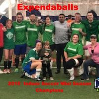 2019 Indoor Soccer Mini Season Champions Expendaballs