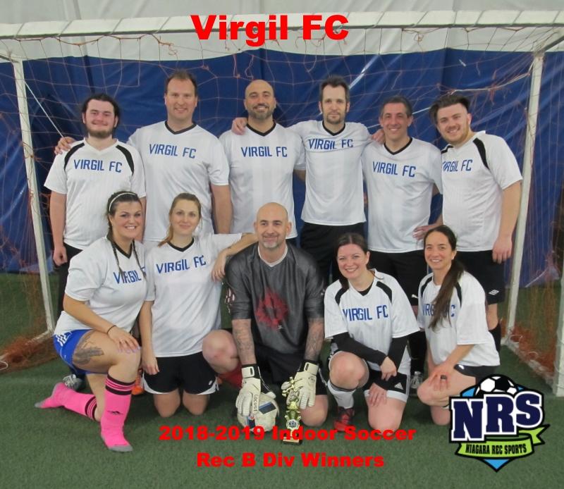 NRS 2019 Soccer Rec B Div Winners Virgil FC