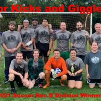 2021 NRS Soccer Rec B Division Winners For Kicks and Giggles