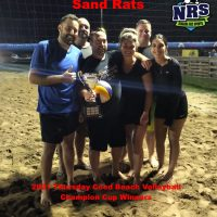 NRS 2021 Thursday Coed Volleyball Champion Cup Winners Sand Rats