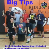 NRS Court Volleyball Cup Winners