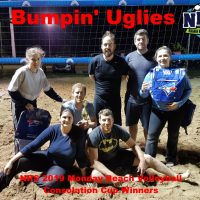 NRS 2019 Monday Beach Volleyball Consolation Cup Winners