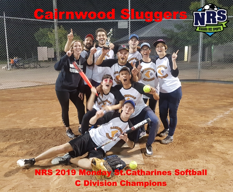 NRS 2019 Monday St.Catharines Softball C Division Champions