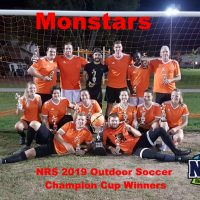 NRS 2019 Outdoor Soccer Champion Cup Winners