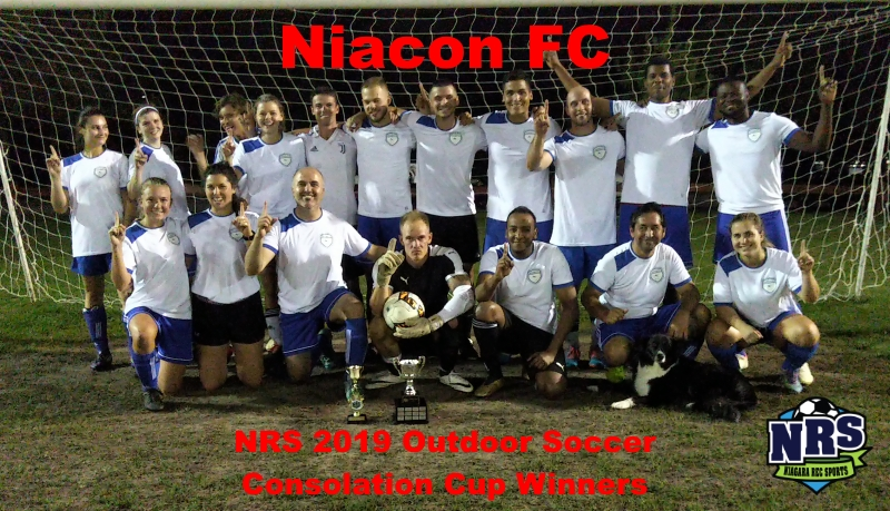 NRS 2019 Outdoor Soccer Consolation Cup Winners Niacon FC