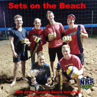 NRS 2019 Thursday Coed Beach Volleyball Champion Cup Winners Sets on the Beach