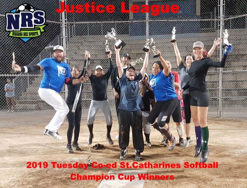 NRS 2019 Tuesday St.Cath Softball Justice League
