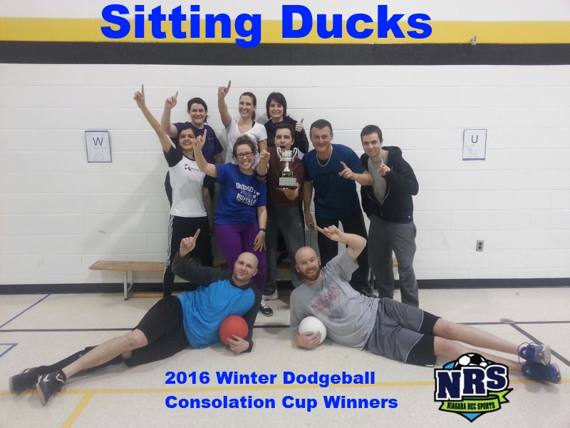 NRS Winter Dodgeball B Div Champs