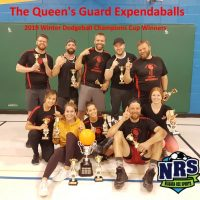 NRS 2019 Winter Champions CUp Winners The Queen's Guard Expendaballs