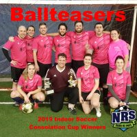 NRS 2019 Indoor Soccer Consolation Cup Winners Ballteasers