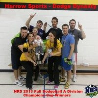 Niagara Rec Sports 2013 Fall A Division Dodgeball Champs