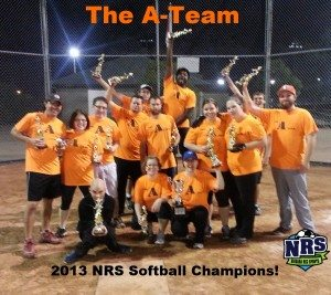 Niagara Rec Sports Softball Champions 2013