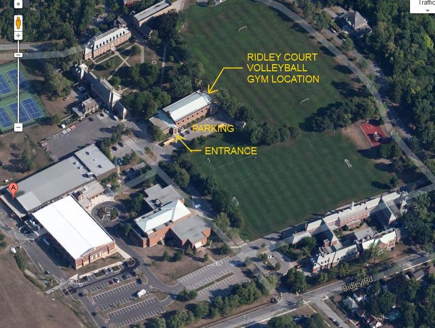 Court Volleyball Gym Location Ridley College