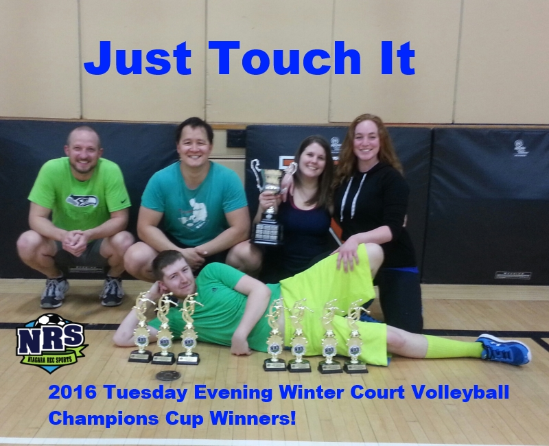 2016 Tuesday Evening A Division Champs