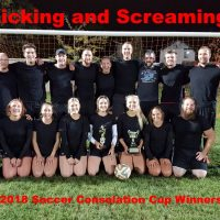 NRS 2018 Soccer Consolation Cup Winners Kicking and Screaming