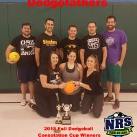 NRS 2018 Dodgeball Consolation Cup WInners Dodgefathers