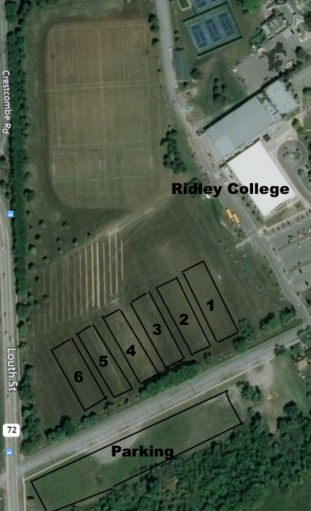 Ridley Field location 2019 Season
