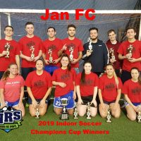 NRS 2019 Indoor Soccer Champions Cup Winners JanFC