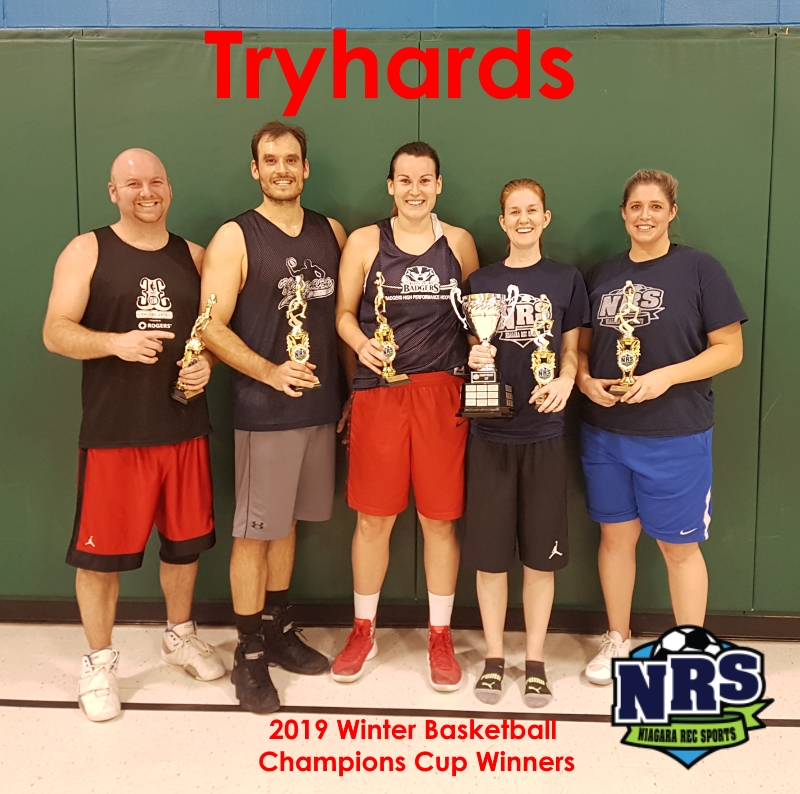 NRS 2019 Winter Basketball Champions Cup Winners Tryhards